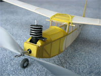 Baby Flea #FF14 # Easy Built Models Balsa Wood Model Airplane Kit Rubber Powered