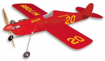 Buster #CL12 Control Line Profile Fuslage Kit SIG Balsa Wood Model Airplane Kit