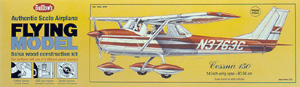 "Cessna 150 24"" Guillows #309 Wood Model Airplane Kit"