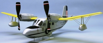 Coast Guard J4F-1 Amphibious Rescue #328 Dumas Balsa Wood Model Airplane Kit