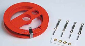 Control Line Kit #SH460 7-Strand Braided Stainless Steel 2 Line/.018 x 60'