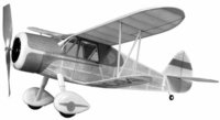 Customaire #FF26 Sig Balsa Wood Model Airplane Kit Rubber Powered