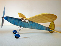 # Dart #EB11 Easy Built Models Balsa Wood Model Airplane Kit Rubber Powered