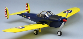 Erco Ercoupe #1820 Dumas Balsa Wood Model Airplane Kit(Suitable for Elect R/C)