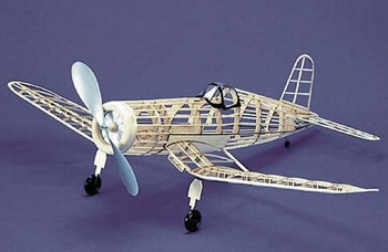 F4u 1 Corsair 113 Herr Balsa Wood Model Airplane Kit