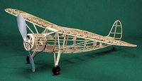 Fairchild 24 #102 Herr Balsa Wood Model Airplane Kit Rubber Powered