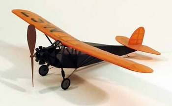 "Fairchild FC-2 #216  Dumas 17 ½"" Wingspan Balsa Wood Model Airplane Kit Rubber Powered"