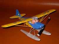 Fleet Canuck (on Floats) #FF62 Easy Built Models Balsa Wood Model Airplane Kit Rubber Powered