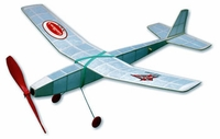 Fly Boy #4401 Guillows Beginners Balsa Wood Model Airplane Kit Rubber Powered