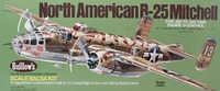 B25 Mitchell Wood Model Airplane Kit Guillows #805
