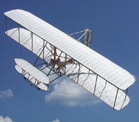 Guillows Wright Flyer Wood Model Airplane Kit #1202