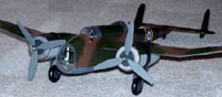 Handley-Page Hampden Bomber #D07 Easy Built Models Balsa Wood Model Airplane Kit Rubber Powered