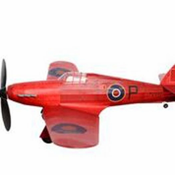 Hawker Hurricane #486 Vintage Co Balsa Wood Model Airplane Kit  Rubber Powered