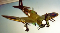 Hawker Typhoon (Tornado) #FF67 Easy Built Models Balsa Wood Model Airplane Kit Rubber Powered