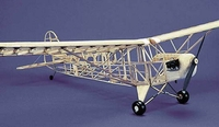 J-3 Cub Piper#103 Herr Balsa Wood Model Airplane Kit Rubber Powered