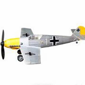 BF-109 #493 Vintage Co Balsa Wood Model Airplane Kit Rubber Powered