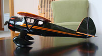 Monocoupe 90A #FF81 Easy Built Models Balsa Wood Model Airplane Kit Rubber Powered