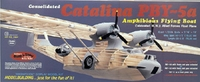 """PBY-5A Catalina 45.5"""" #2004 Guillows Wood Model Airplane Kit"""