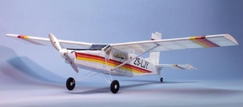 Pilatus Porter #1806 Dumas Balsa Wood Model Airplane Kit(Suitable for Elect R/C)