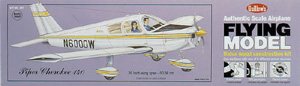 """Piper Cherokee 140 20"""" Guillows #307 Wood Model Airplane Kit"""