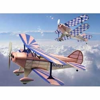Pitts Special S1 #229  Rubber Powered Dumas Wood Model Airplane Kit