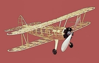 PT 17 Stearman #116 Herr Balsa Wood Model Airplane Kit Rubber Powered
