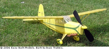 Rearwin Speedster, Easy Built Models #FF80 Balsa Wood Model Airplane Kit