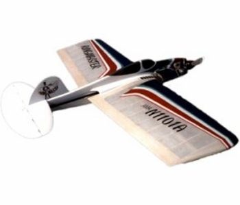 Ringmaster Old Time Stunt Control Line Balsa Wood Model Airplane Kit RSM Dist