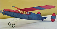 Scatterbrain #FF13 Easy Built Models Balsa Wood Model Airplane Kit Rubber Powered