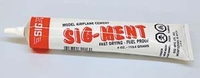 SIG-MENT #SM002 4oz. Sig Solvent-Based Wood Model Cement
