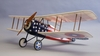 SPAD XIII #1816 Dumas Electric R/C Balsa Wood Model Airplane Kit