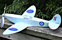 Spitfire Mk 1 #FF25 Easy Built Models Balsa Wood Model Airplane Kit Rubber Powered