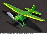 Stinson Reliant, Easy Built Models #FF23 Balsa Wood Model Airplane Kit