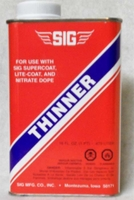 Thinner, Super-Coat Paint #SD106 Sig Pint