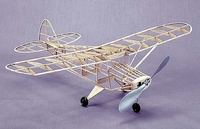 Tri-Pacer Piper #204 Herr Balsa Wood Model Airplane Kit Rubber Powered