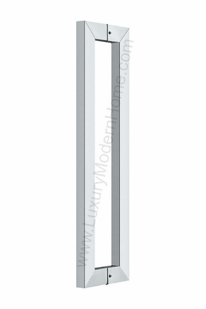 "16"" Rectangular Tube Door Pull Handle"