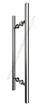 "24"" Round Tube Door Pull Handle"