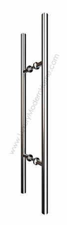 "30"" Round Tube Door Pull Handle"