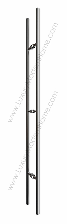 "60"" Round Tube Door Pull Handle"