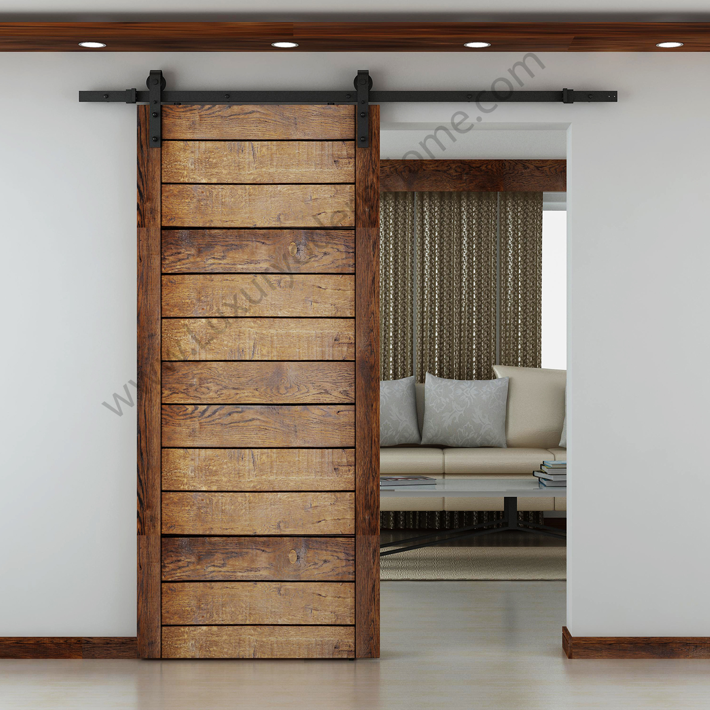 Austin Sliding Barn Door Hardware