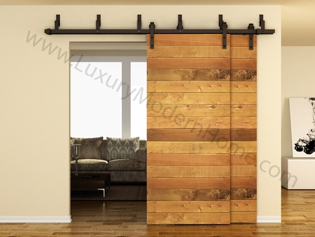 AUSTIN - BYPASS Sliding Barn Door Hardware