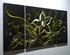 "Corn Spurry Flower - 24"" x 48"" Metal 3D Wall Art - 3 Piece Art"