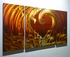"Eternal Love - 24"" x 48"" Metal 3D Wall Art - 3 Piece Art"