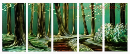 "Forest Trail - 24"" x 60"""