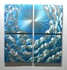 "Heaven - 16"" x 16"" Metal 3D Wall Art - 4 Piece Art"