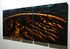 "Lava Flow - 24"" x 60"" Metal Wall Art"