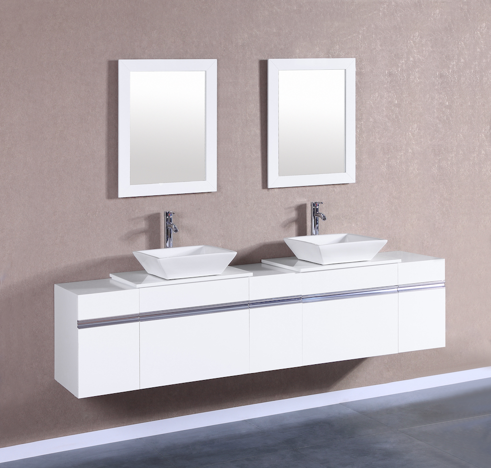 MARCUS 12 Small White Vanity Sink