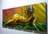 "Nude 2 - 24"" x 60"" Metal 3D Wall Art - 5 Piece Art"