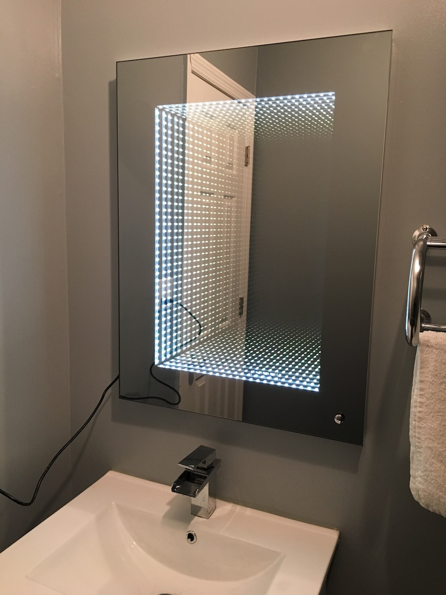 Infinity bathroom mirror - Infinity Bathroom Mirror 48