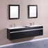 "PETRONIUS - 30"" x 18"" x 23"" Black Vanity Sink"